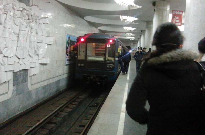 интересно узнать прикольные фото в харьковском метрополитене домов сходились