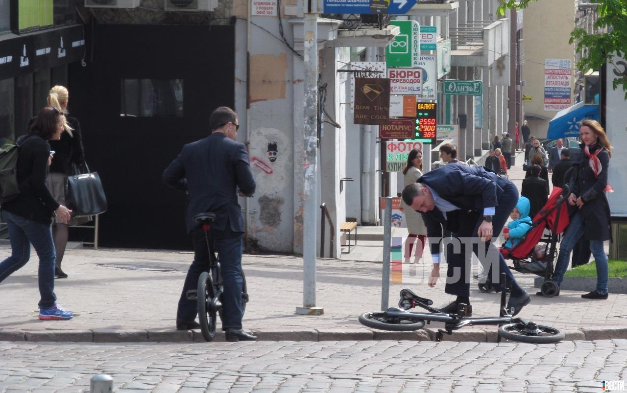 кличко и велосипед картинки несла