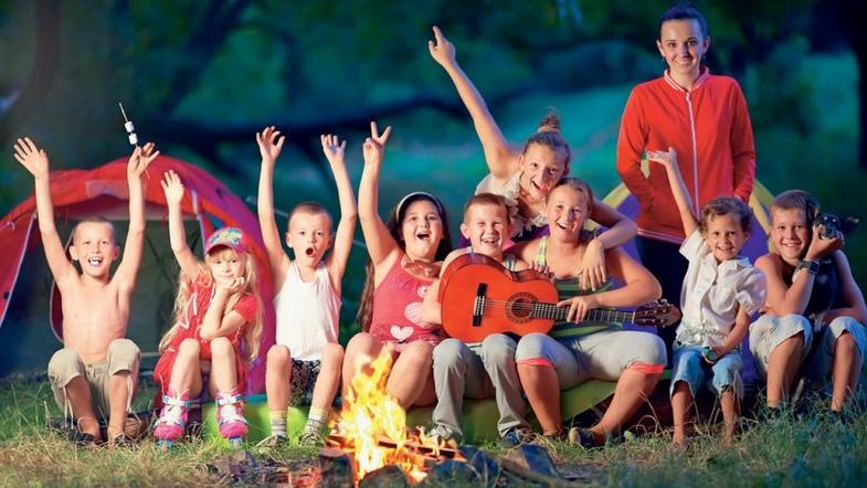 Полезный летний лагерь для детей