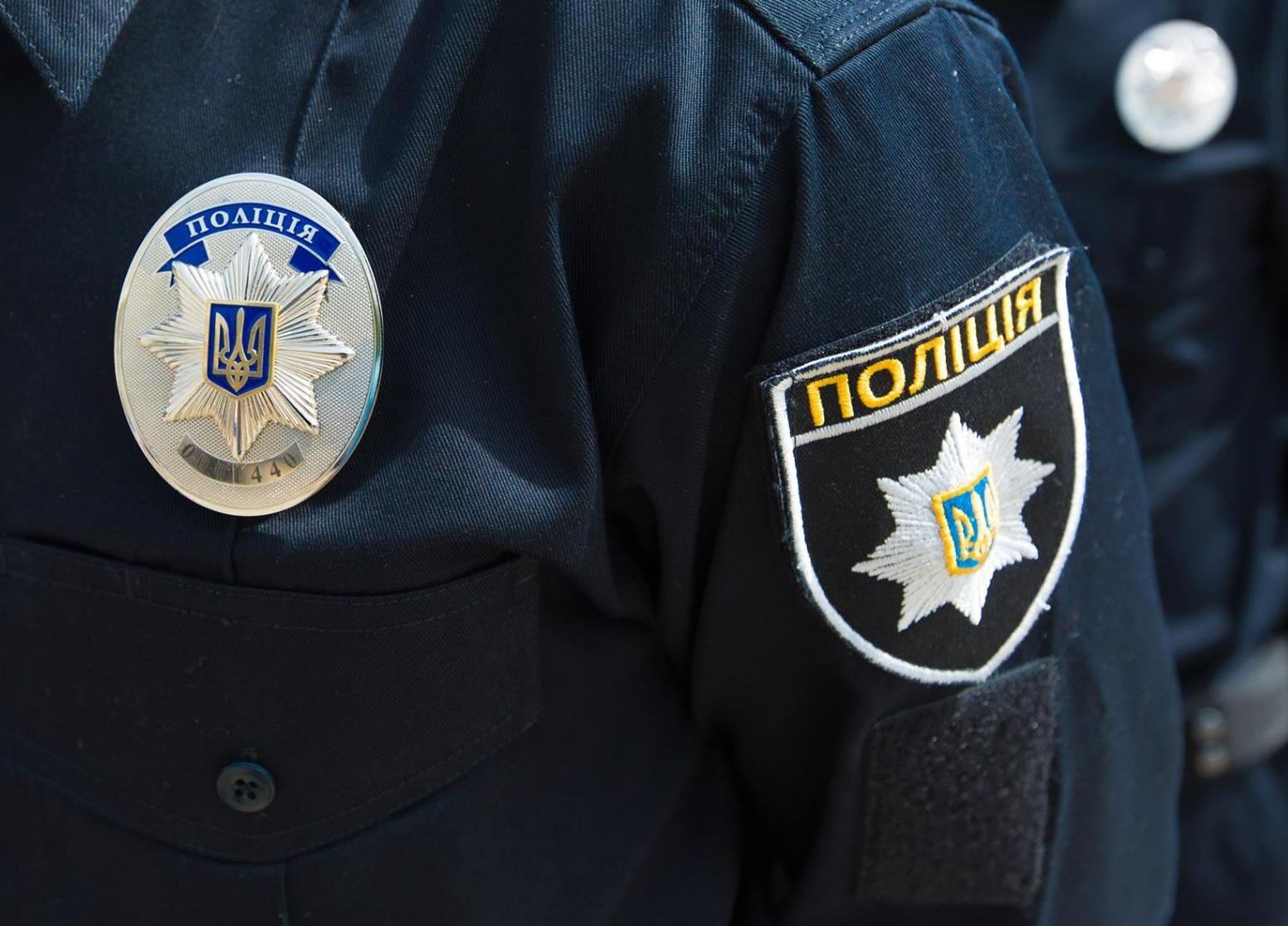 В Луцке на улице порезали полицейских