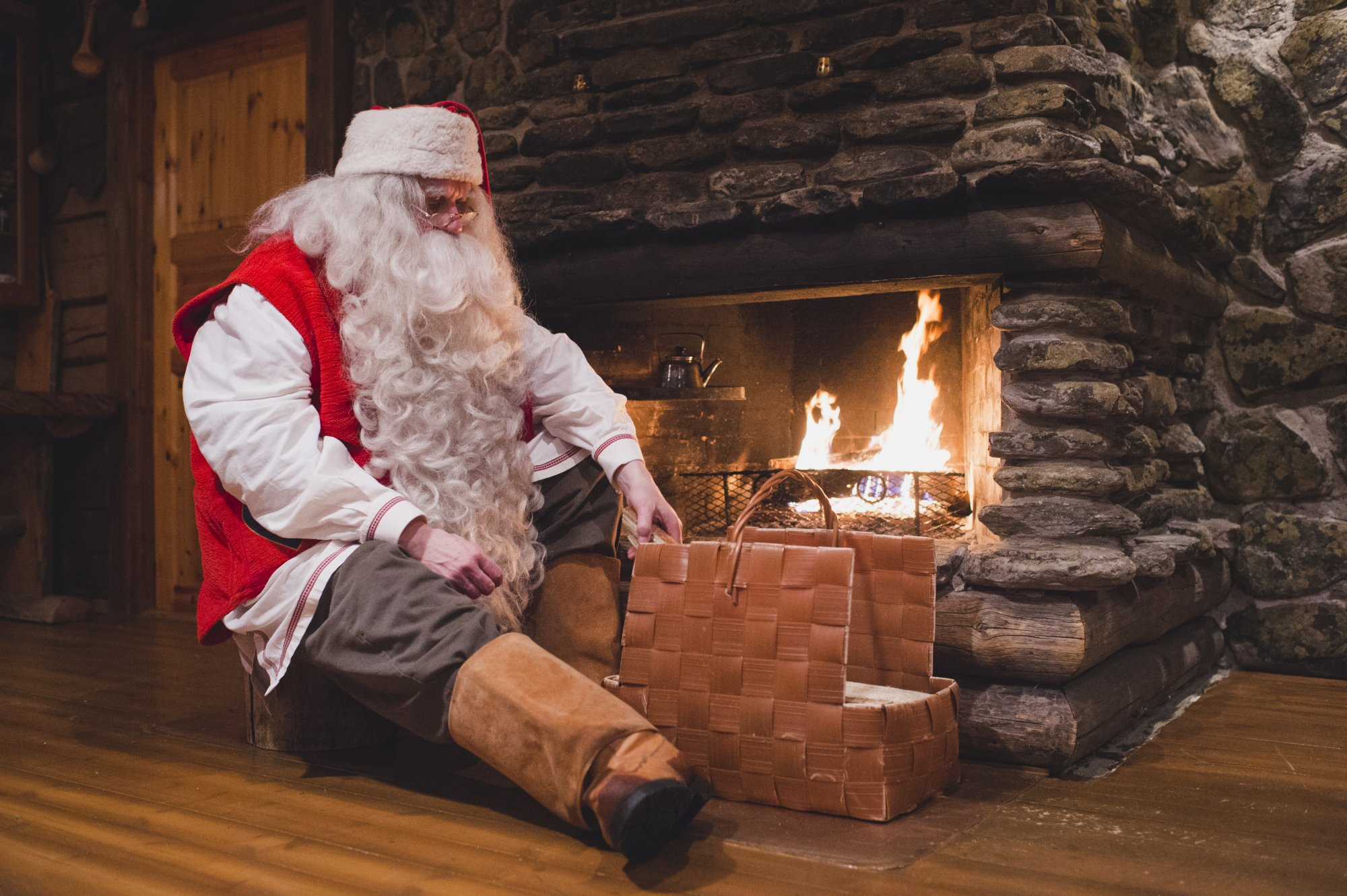 Настоящий Санта Клаус из Лапландии впервые в Украине - успейте увидеть!