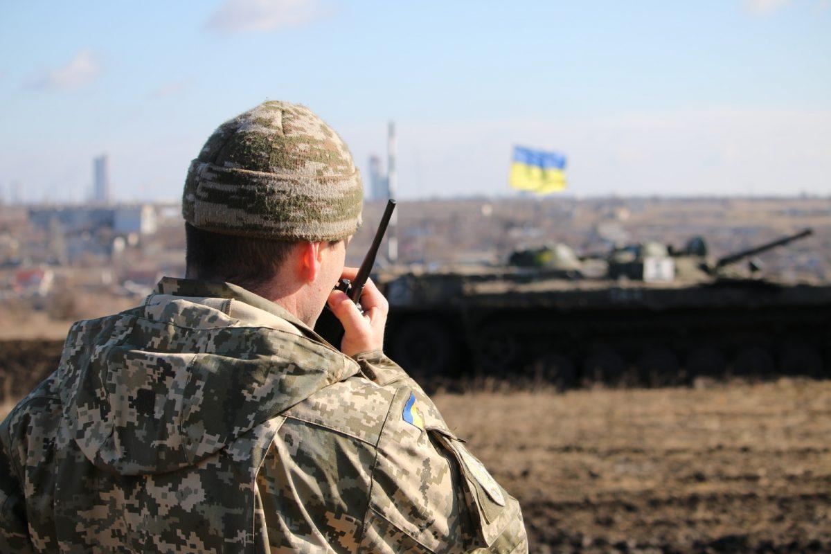 На Донбассе погиб украинский военный, под артиллерию попали гражданские