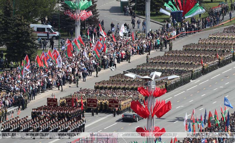 Парад Победы 9 мая в Минске - онлайн