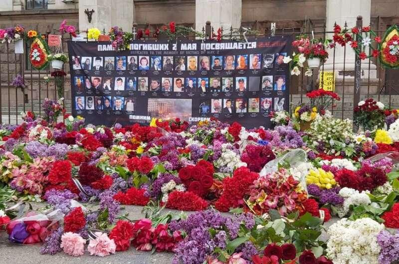 Годовщина трагедии 2 мая: как Одесса почтила память погибших (Фото, Видео)-800x530