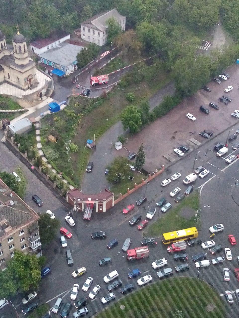 Пожар в Александровской больнице - не случайность. Заявление главврача - фото 1