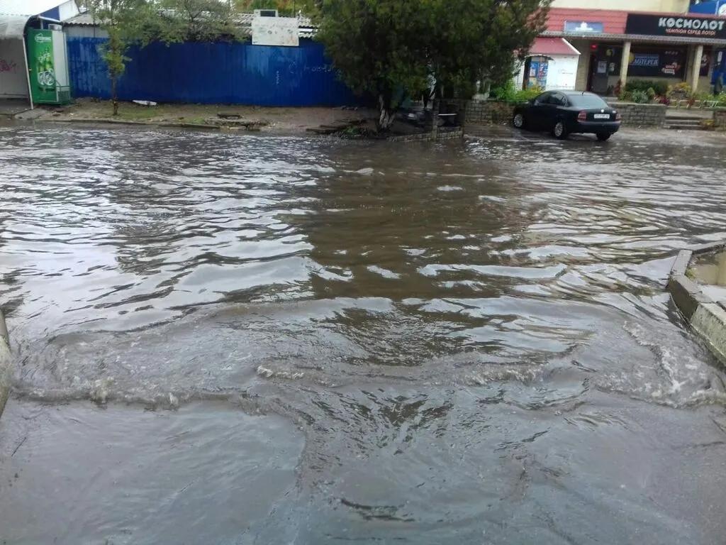 Вчерашний ливень в Херсоне «выполнил норму» осадков за месяц