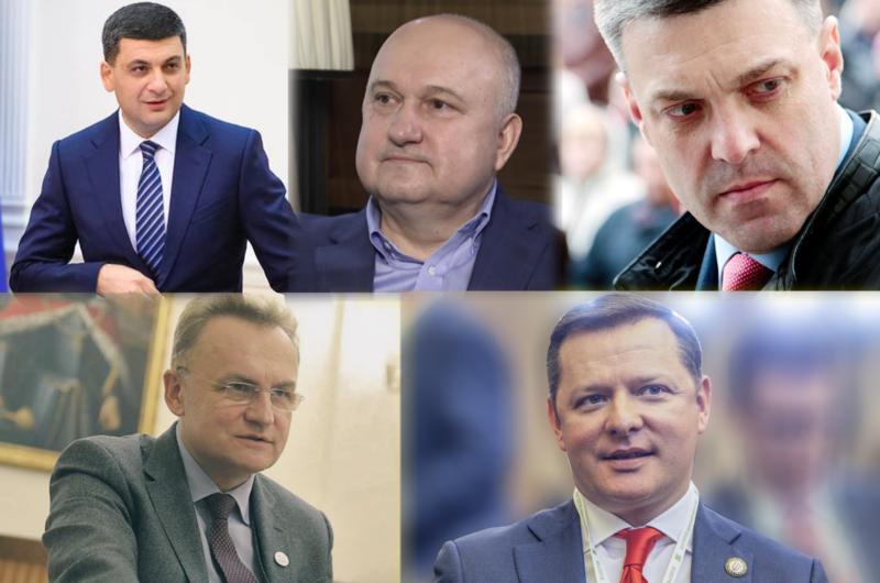 Пике Ляшко, марш Шария. Обзор непарламентских партий на местных выборах-800x530
