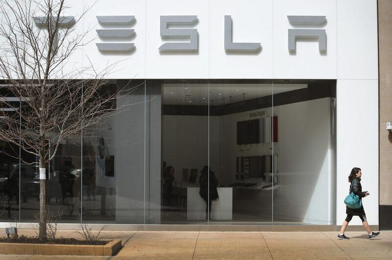 Цена на акции компании Tesla превысила 1000 долларов-800x530