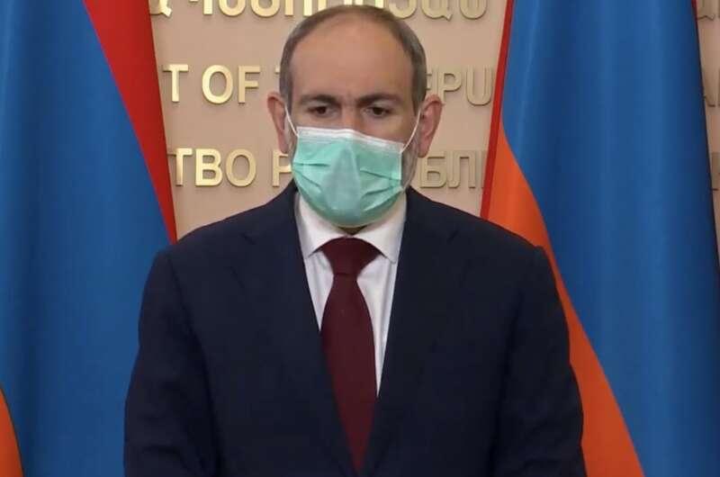 Руководитель  Армении иего семья заразились коронавирусом