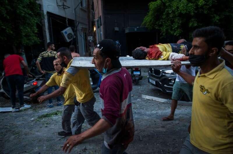 В Ливане подсчитали количество погибших и пострадавших во время взрыва-800x530