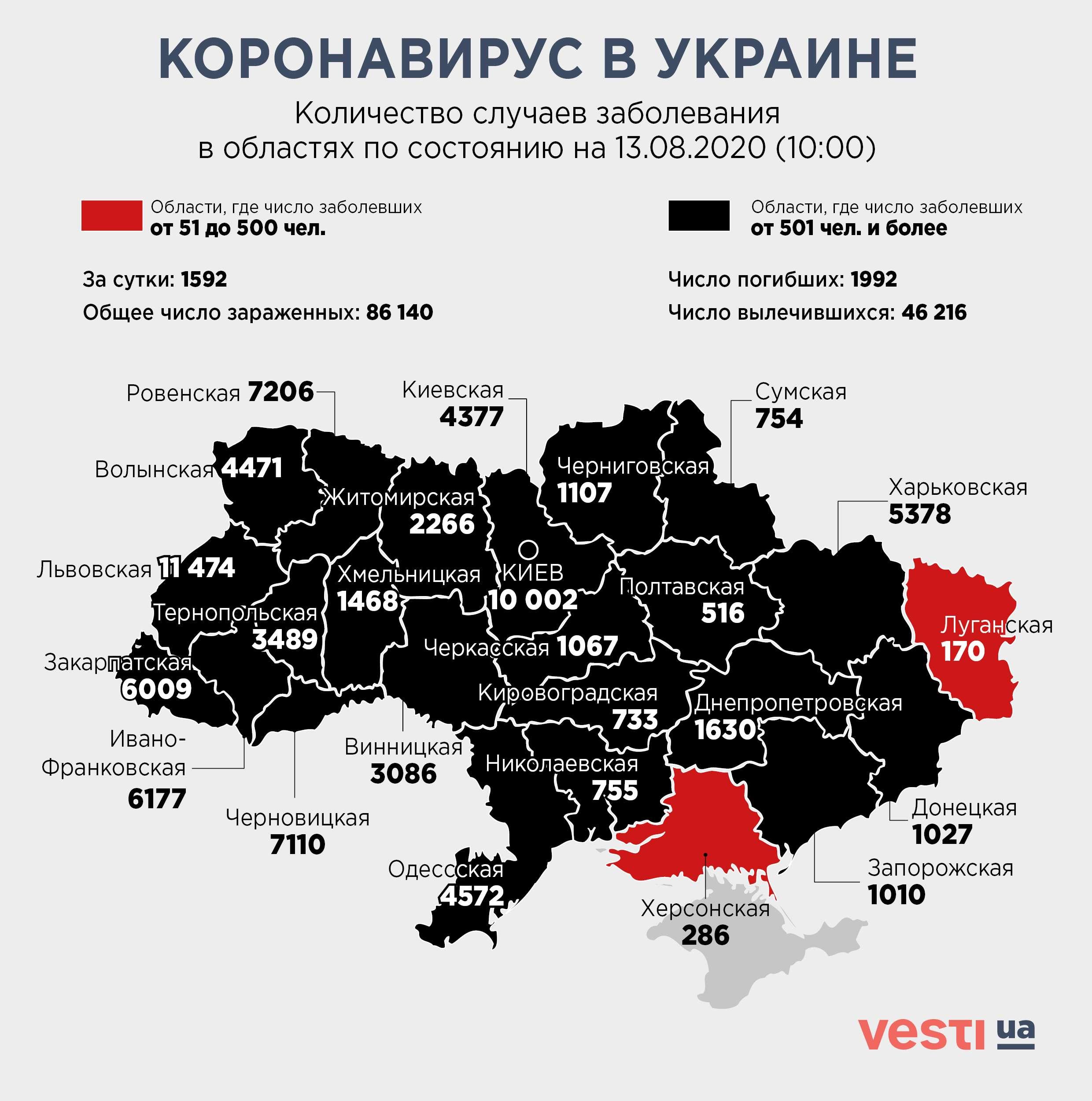 Коронавирусный светофор - в Украине обновили деление на карантинные зоны - фото 1