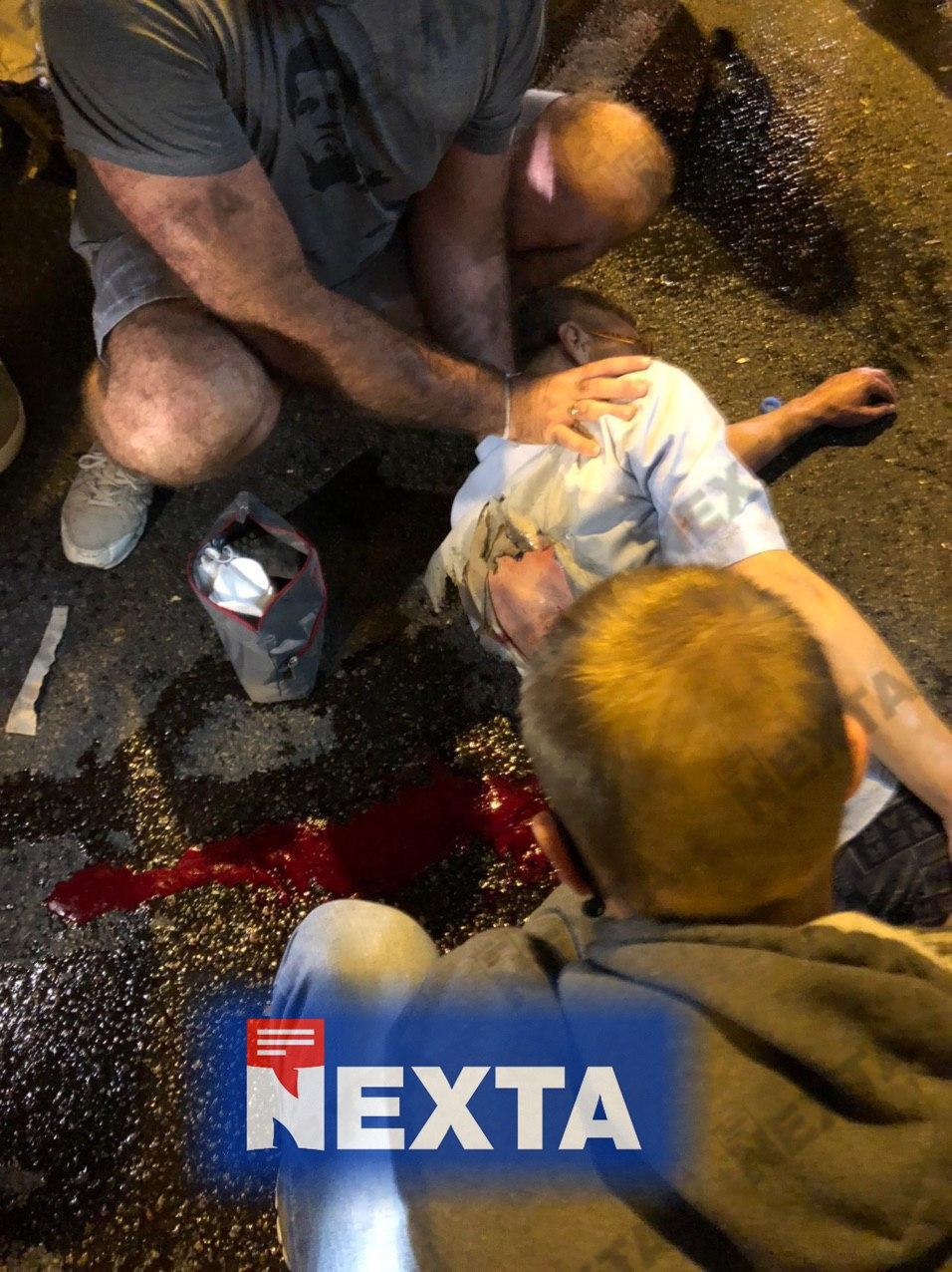 В Минске силовики применяют светошумовые гранаты на Пушкинской площади - фото 1