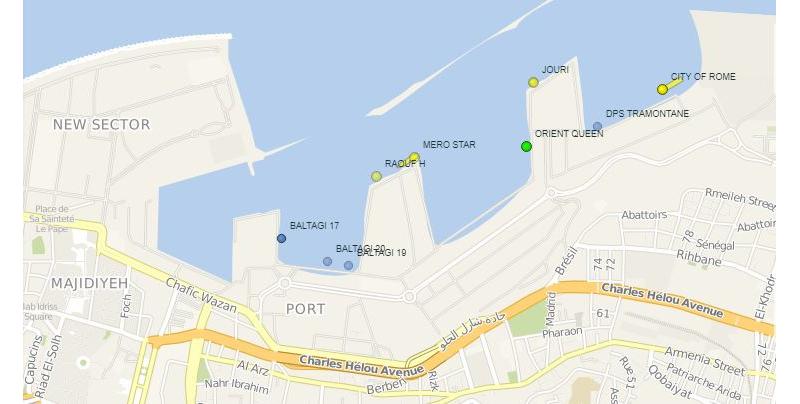 Корабли из Украины находились в порту Бейрута в момент взрыва - фото 1