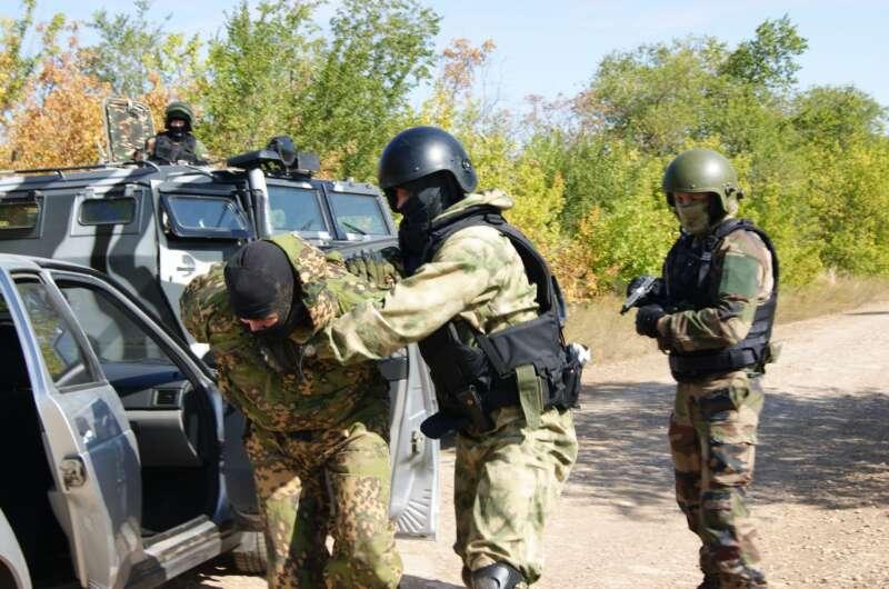 В России назвали задержание боевиков