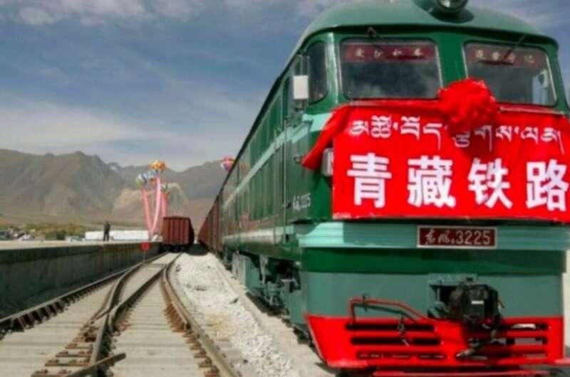 В Украину через РФ выехал первый поезд маршрута грузоперевозок КНР-Европа-800x530