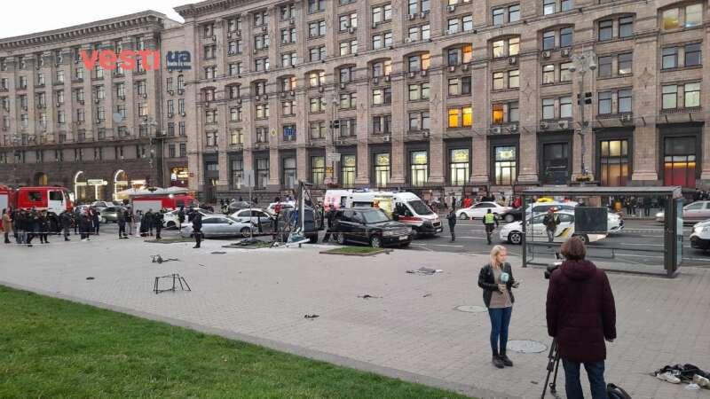 В Киеве на Майдане Незалежности смертельное ДТП. Подробности от Vesti.ua