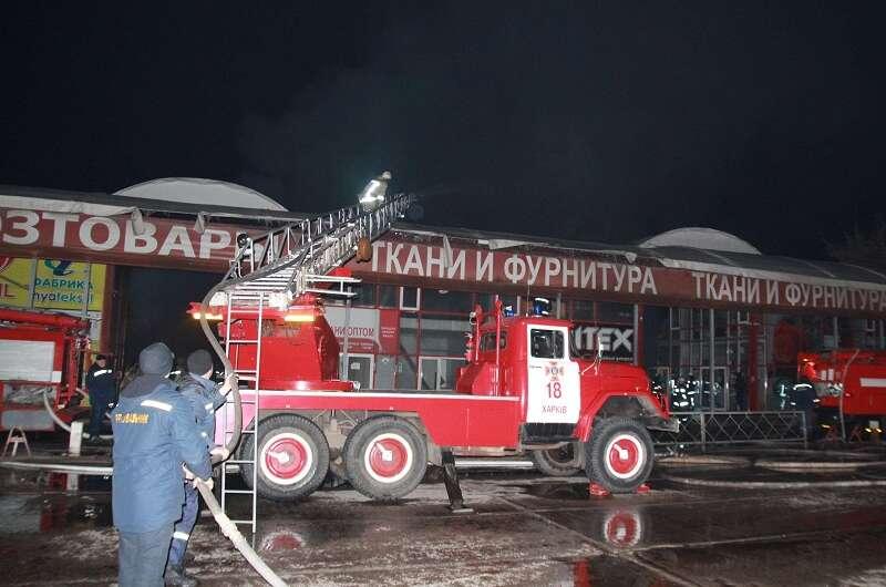 Полиция: причиной пожара на Барабашово стал поджог-800x530