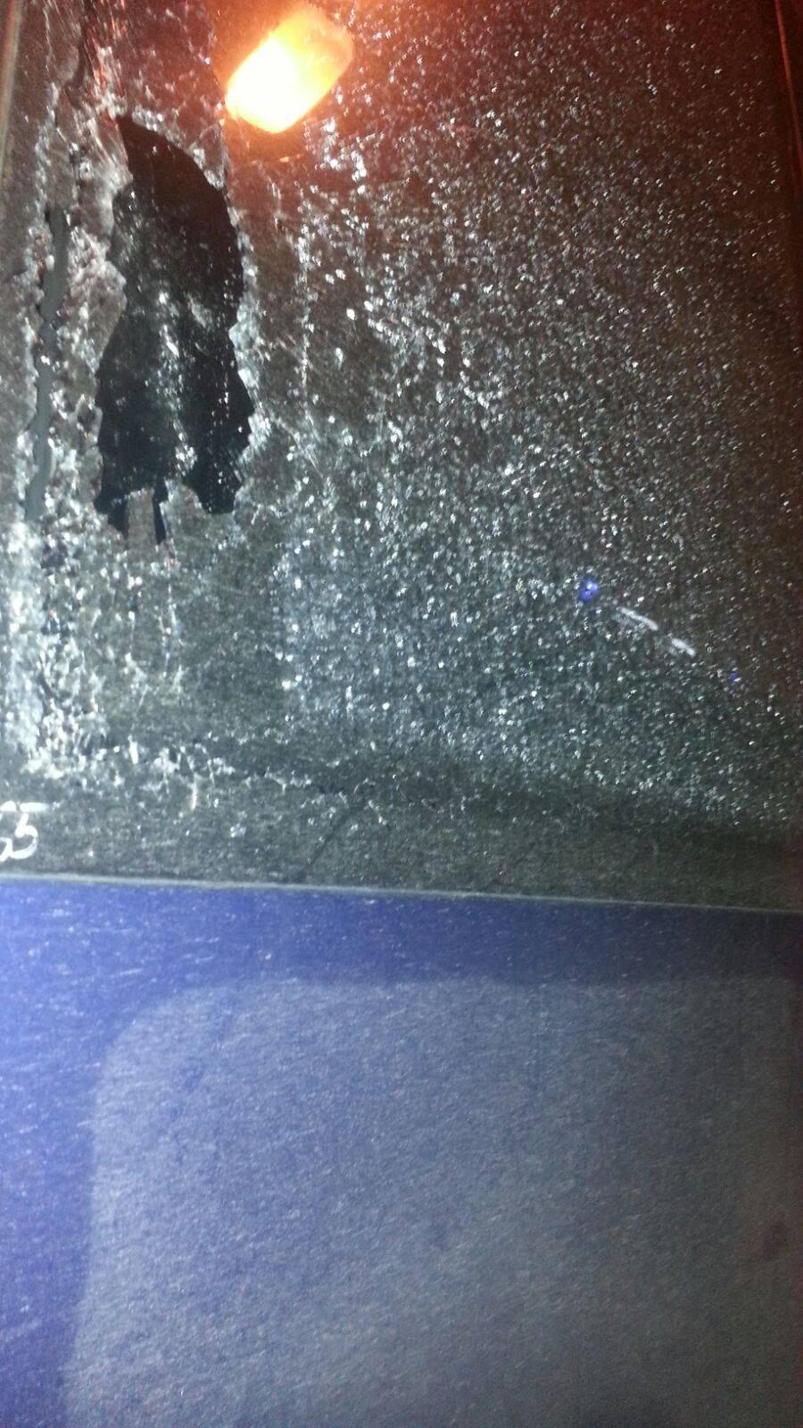В Чернигове расстреляли автобус с пассажирами - фото 1