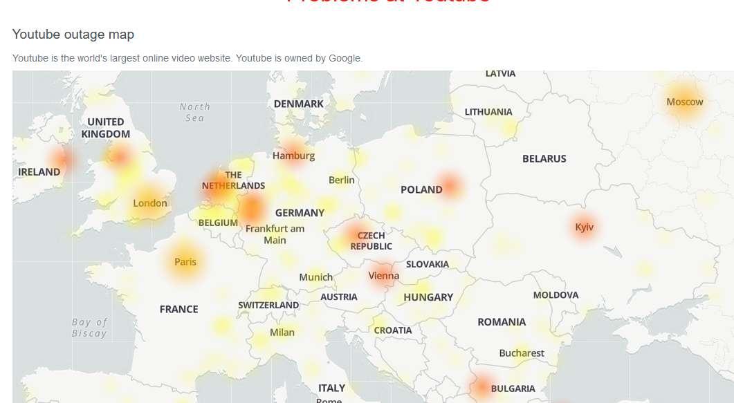 В работе YouTube и Google произошел масштабный сбой по всему миру - фото 1