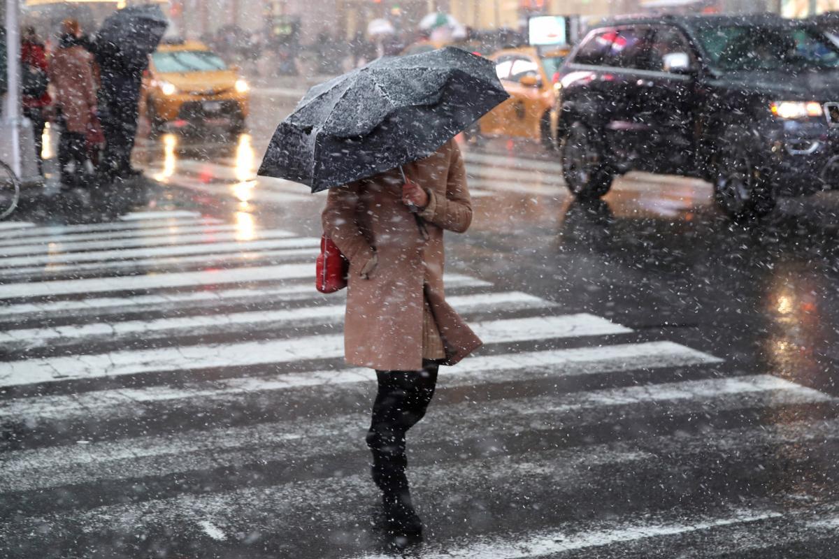 Украину снова накроют осадки: ожидаются дождь и мокрый снег