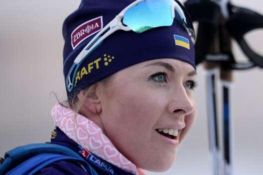 Юлия Джима завоевала серебро в спринте на этапе Кубка мира по биатлону-1200x800
