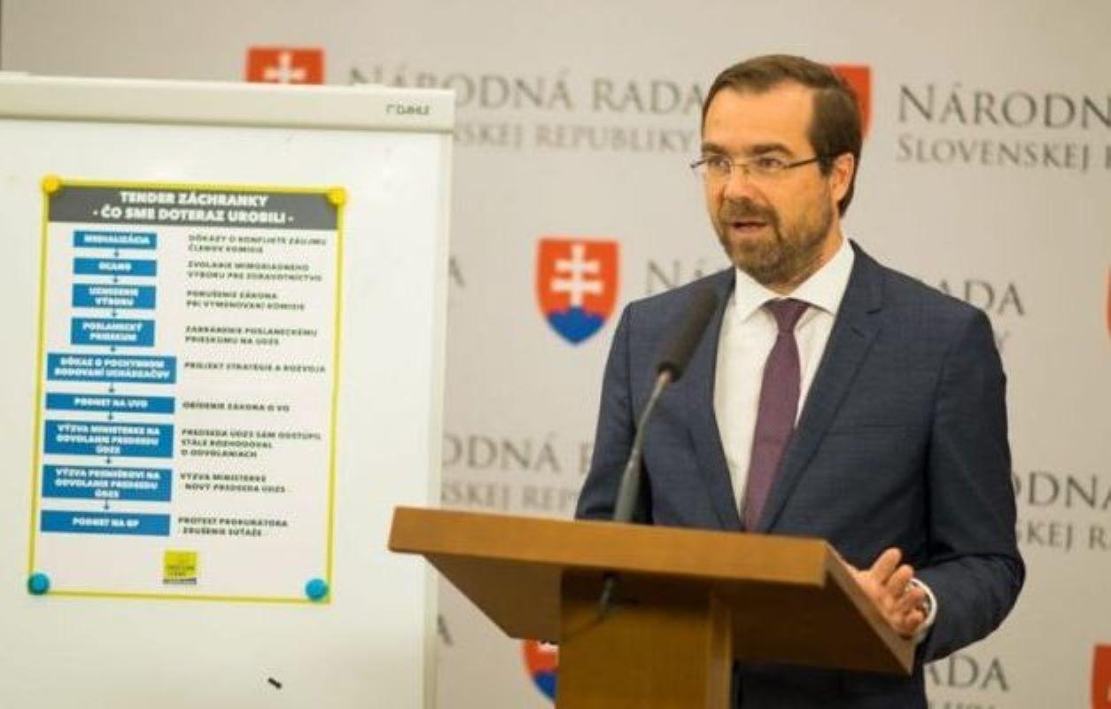 Глава Минздрава Словакии ушел в отставку из-за коронавирусного кризиса