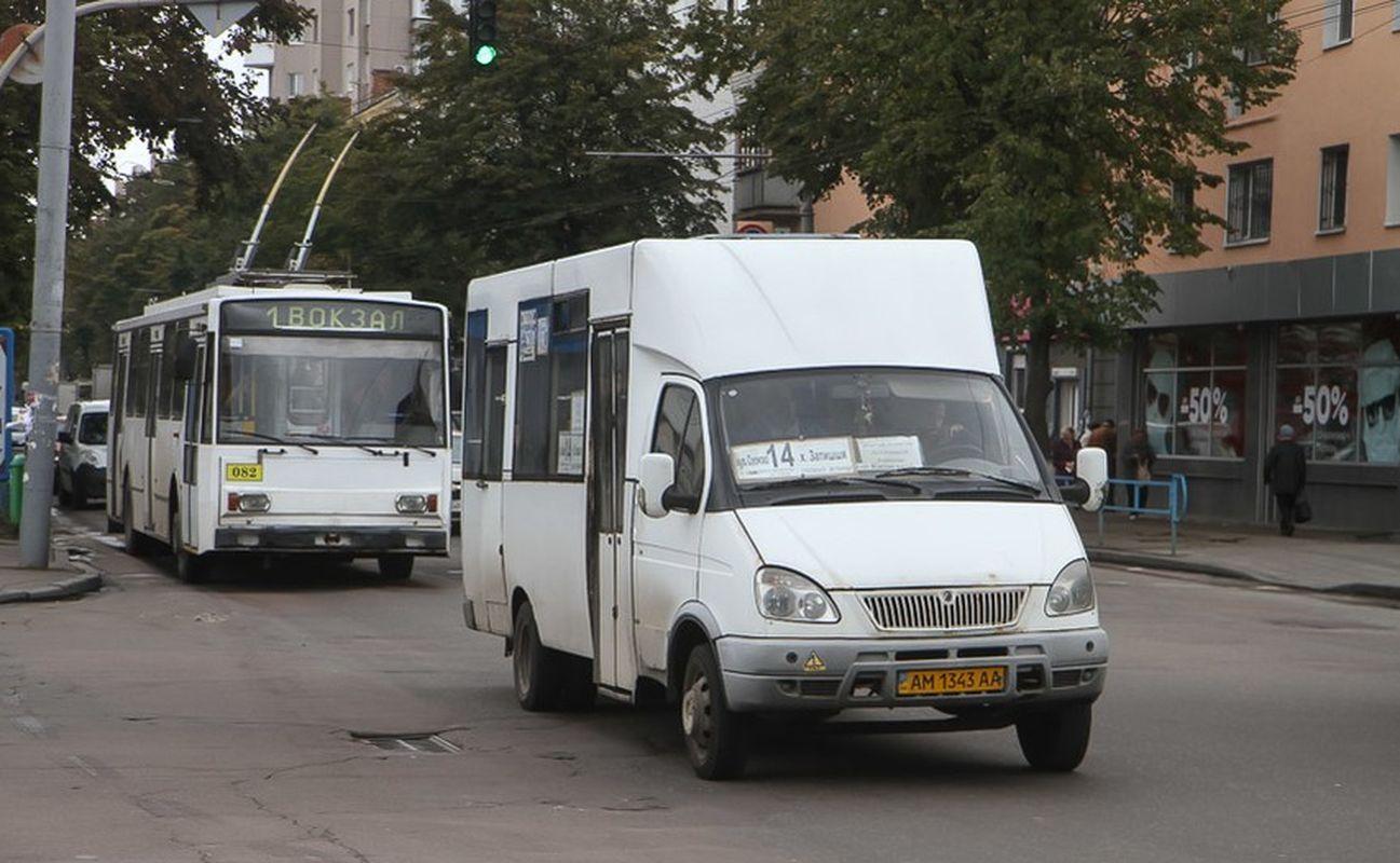 В Житомирской области запретили работу общественного транспорта