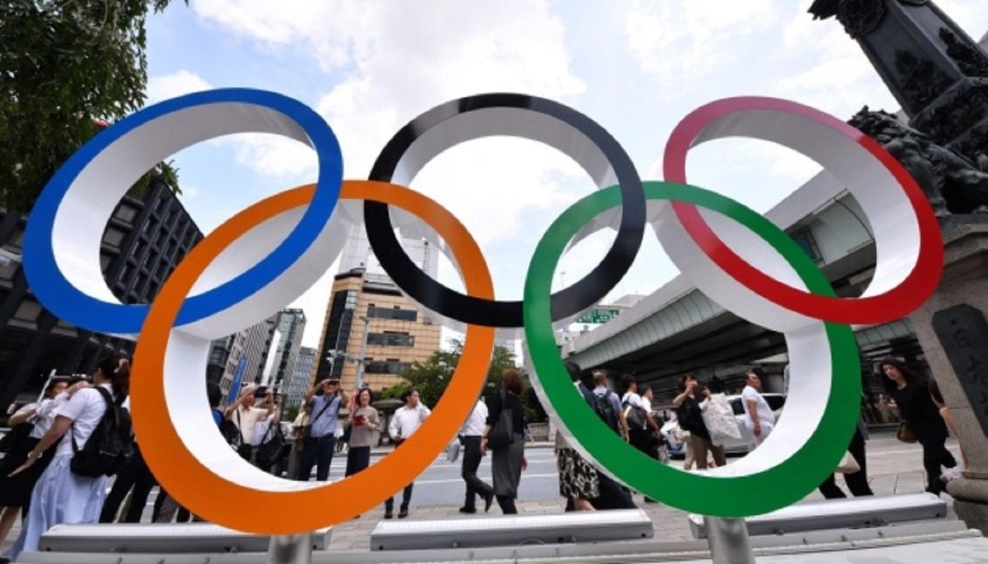 В Японии остановили эстафету олимпийского огня