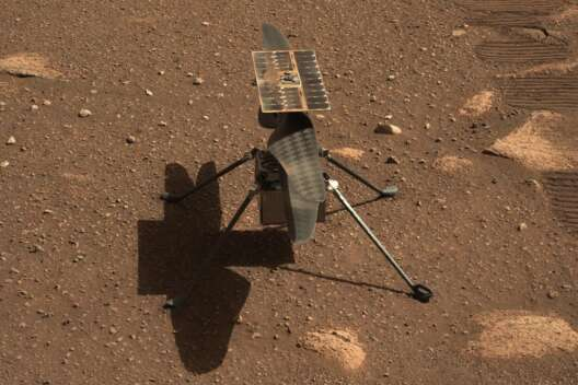 Первый полет вертолета NASA на Марсе запланирован на 19 апреля-1200x800