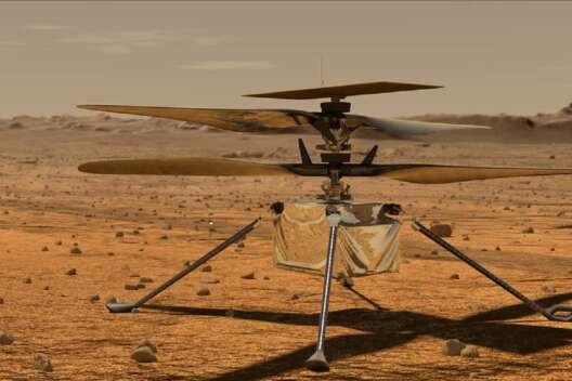 Вертолет NASA совершит первый полет на Марсе-1200x800