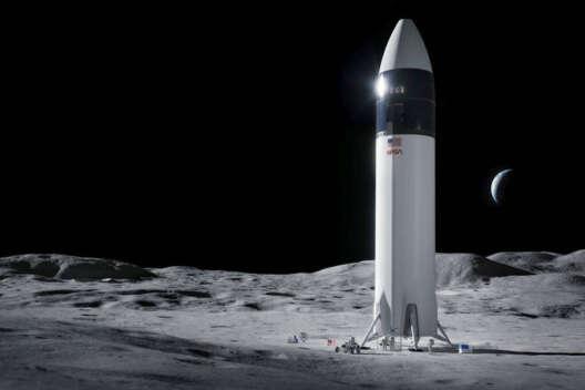 NASA рулит! SpaceX определили для первой высадки женщины на Луну-1200x800