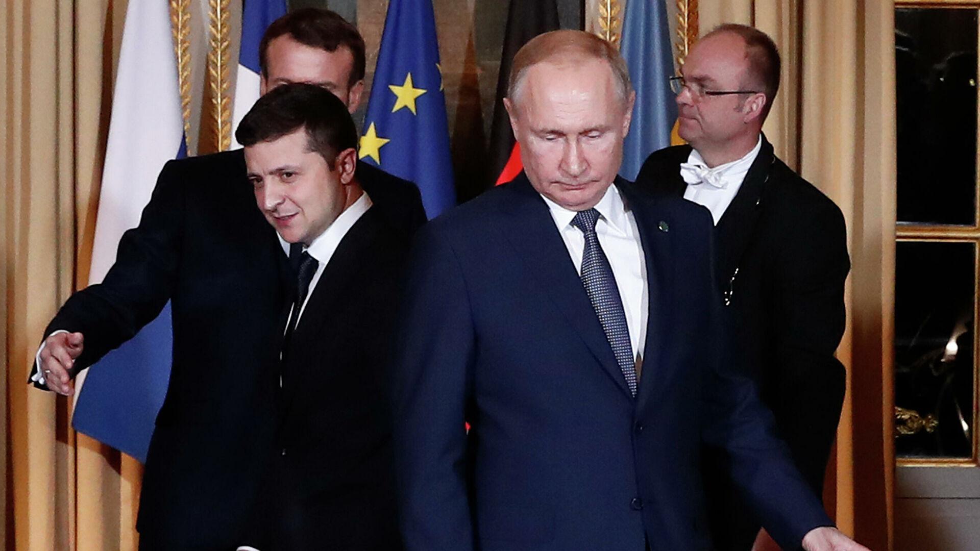 Путин поставил встречу с Зеленским в зависимость от судьбы дела Медведчука