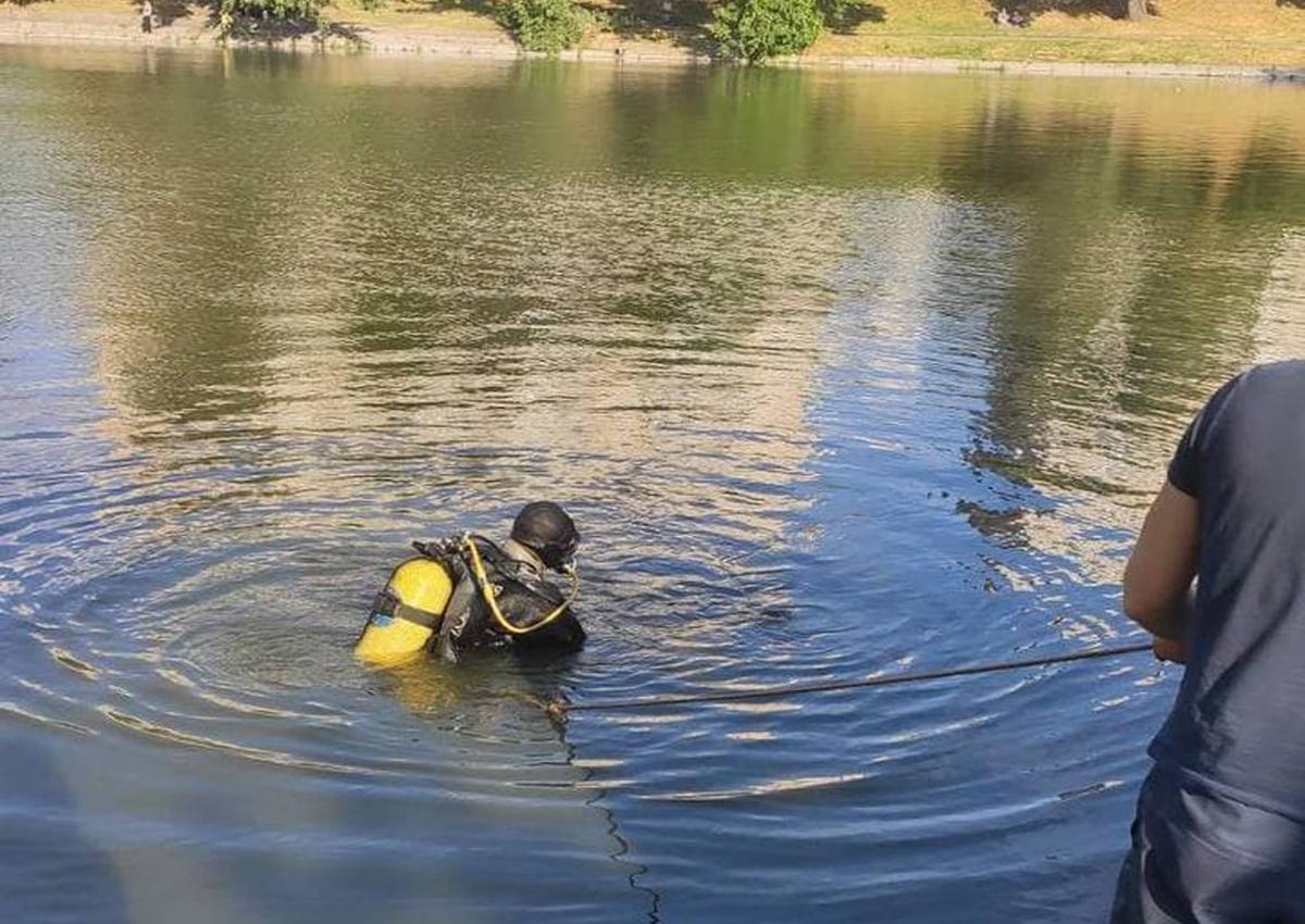 В озере на Борщаговке нашли утопленника