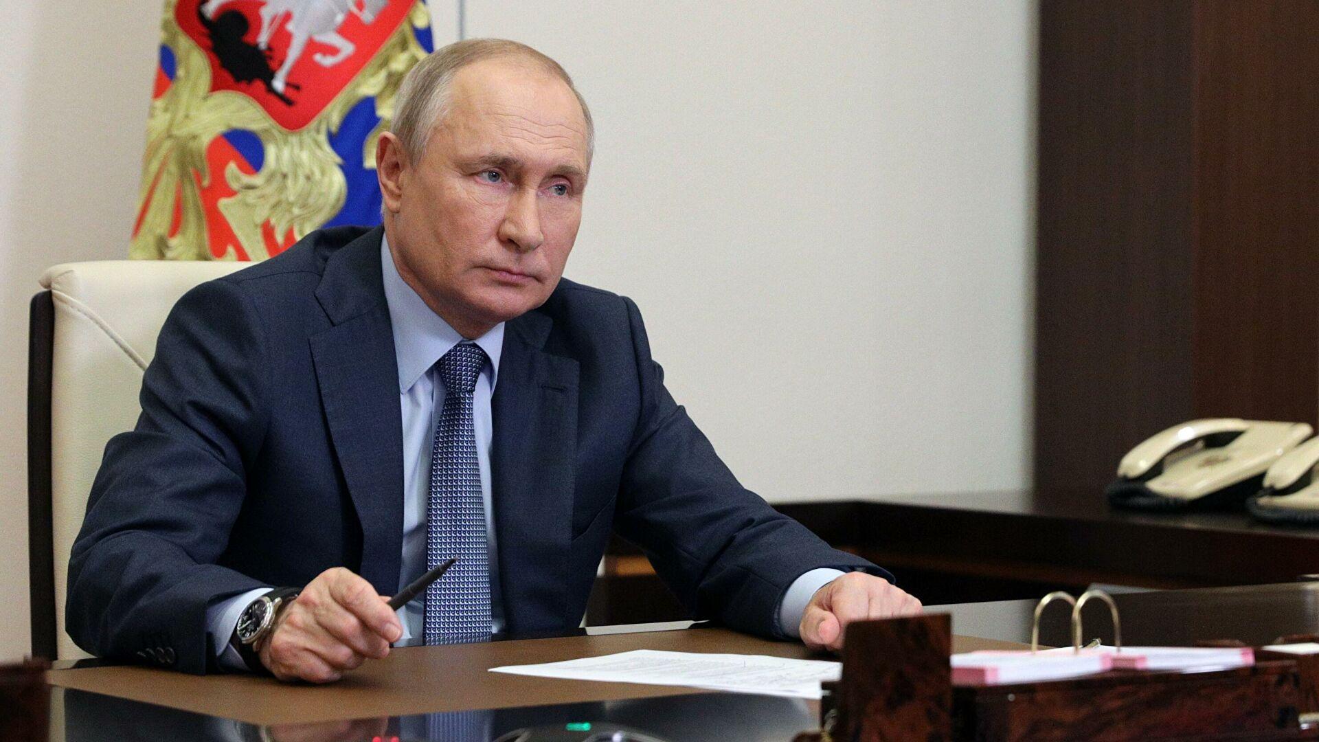 Путин заявил, что преследование Медведчука незаконное и неконституционное