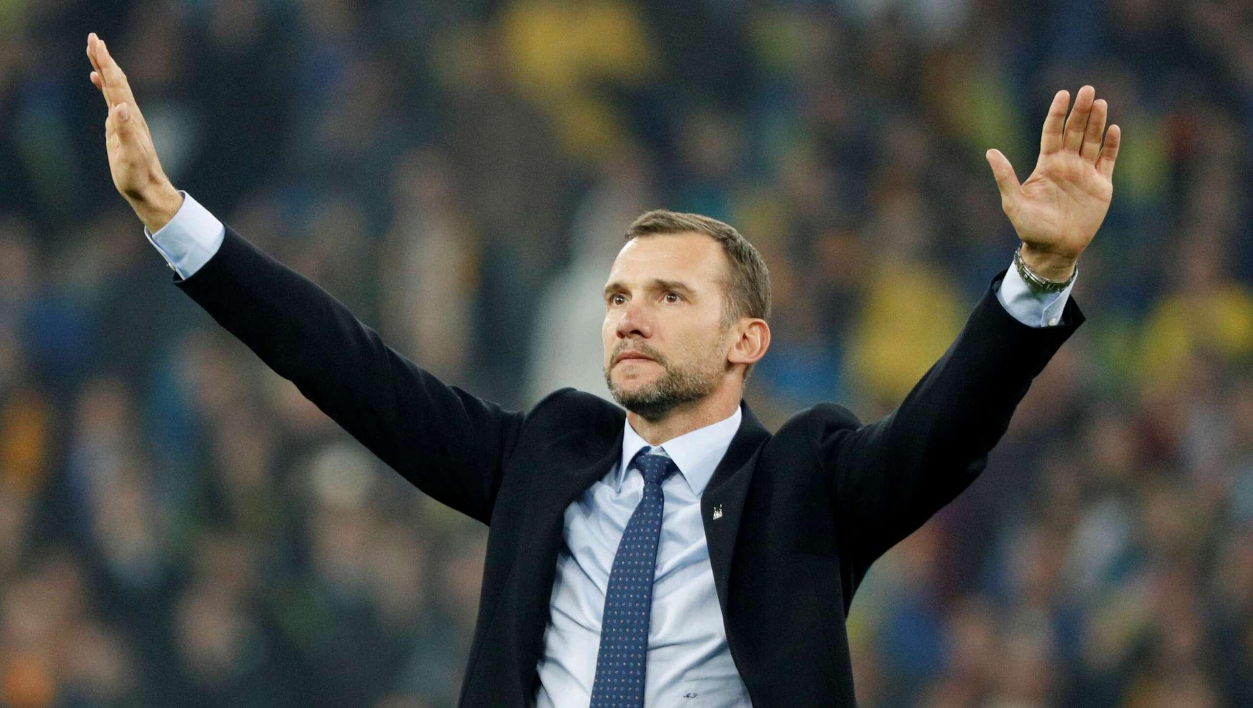 Тренера сборной Украины Шевченко начали травить из-за русского языка