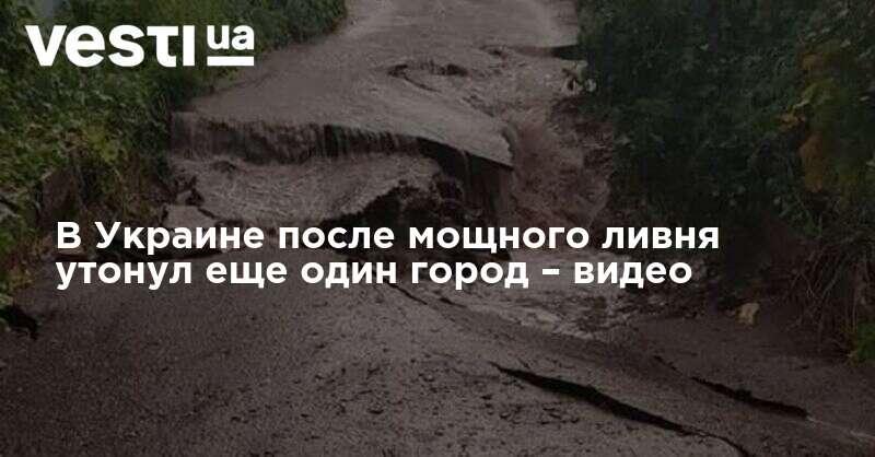 В Харьковской области из-за ливня подтоплены дома   ВЕСТИ