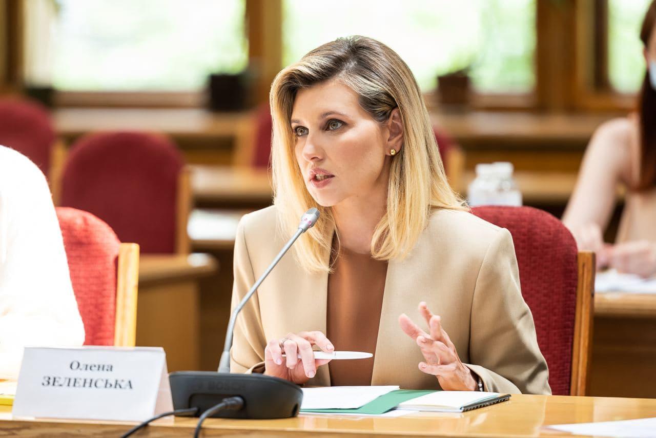 Зеленская рассказала о внедрении безбарьерности