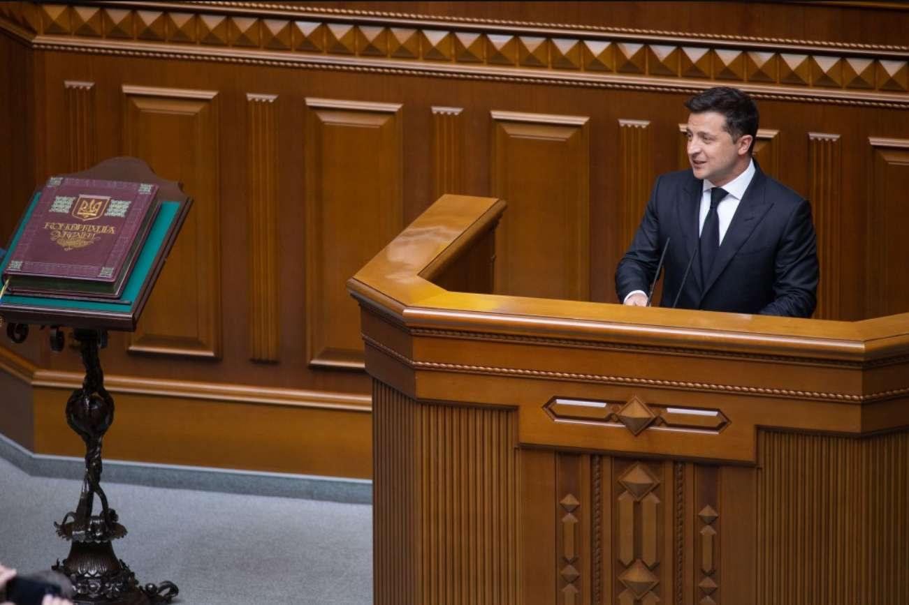 За почти два года Рада приняла только половину законопроектов Зеленского