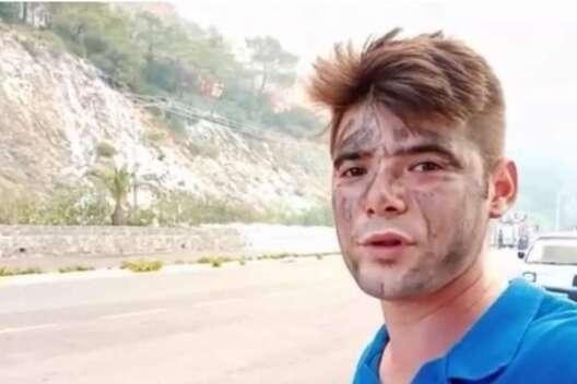 При пожаре в Турции погиб молодой волонтер-1200x800