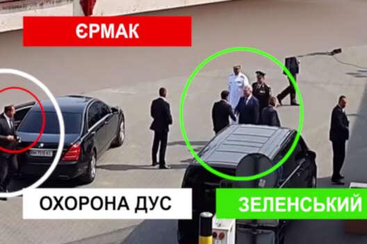 В Одессе с кортежем Зеленского произошел конфуз (видео)-1200x800