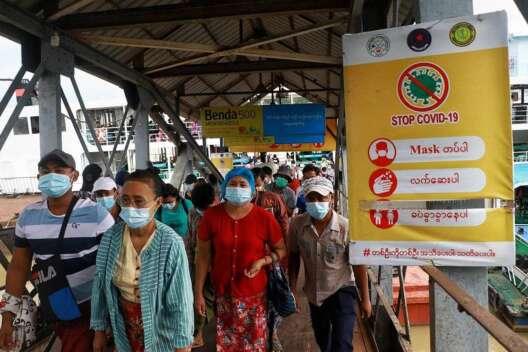 В Мьянме взорвалась бомба в пункте проверки на COVID, есть жертвы