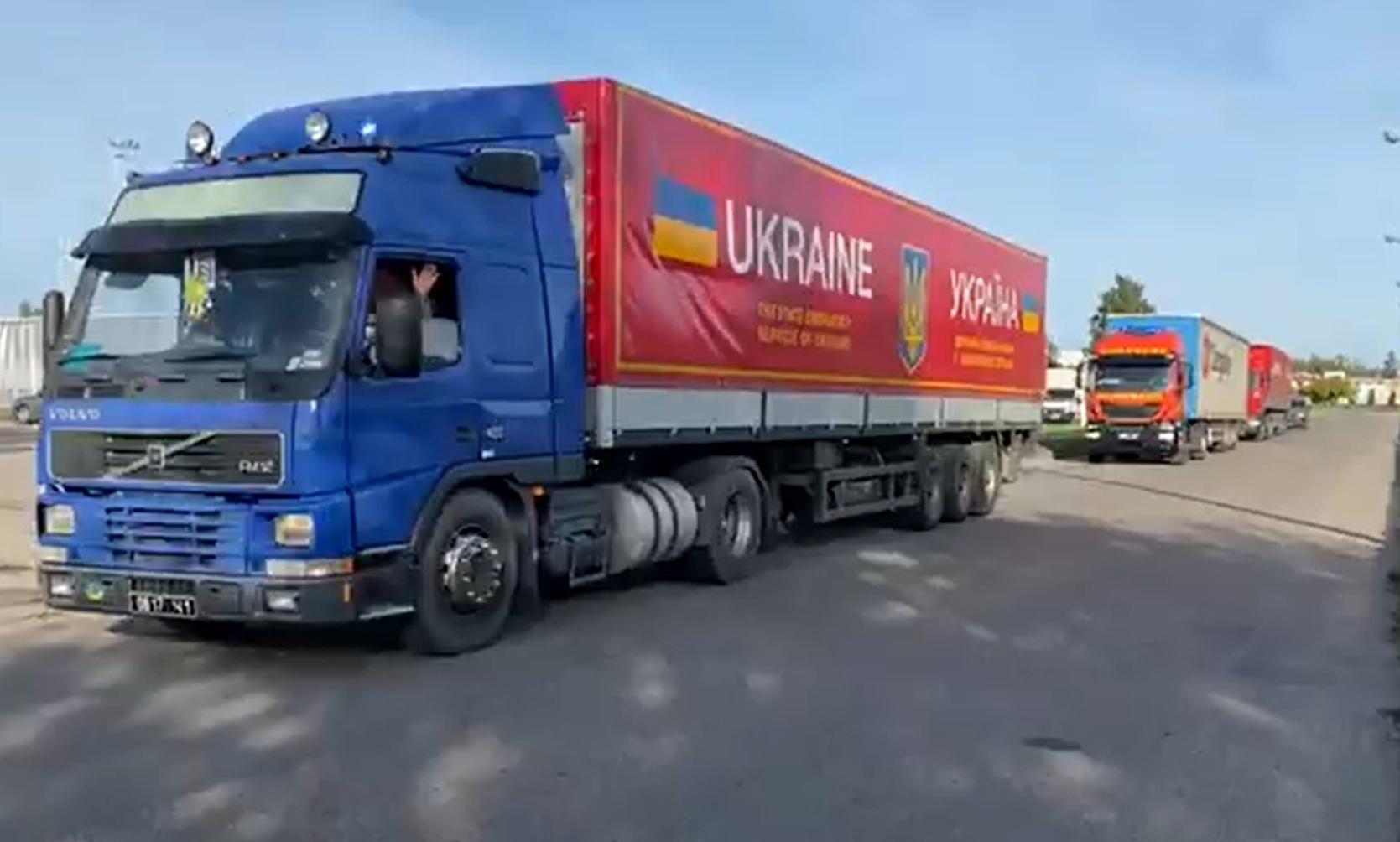 Украина отдала Литве третю партию колючей проволоки